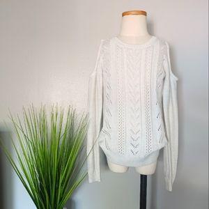 Children's Place Glitter Cold Shoulder Sweater
